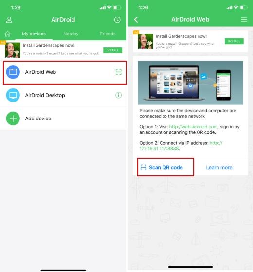 Conecta iPhone y transfiere archivos a Chromebook de forma inalámbrica