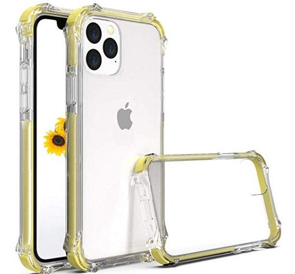 Surphy Bumper funda para iPhone 11 Pro Max - fundas transparentes para iPhone 11 Pro Max