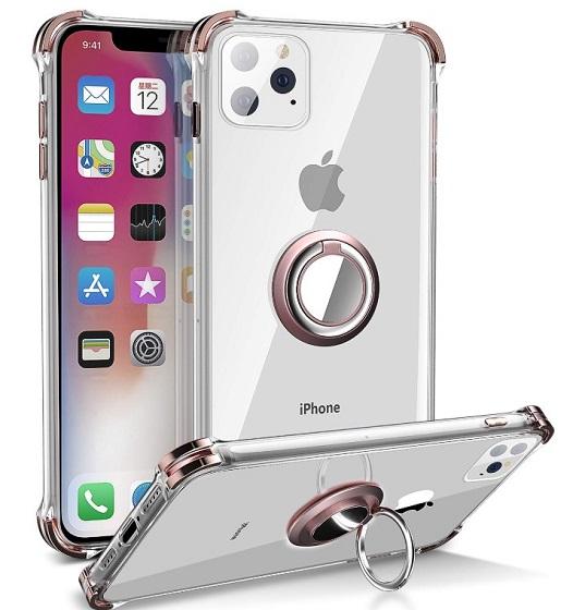 Daupin - fundas transparentes para iPhone 11 Pro Max