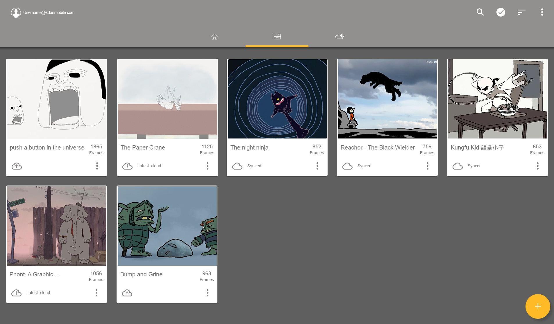 Escritorio de animación: haga su animación y dibujos animados