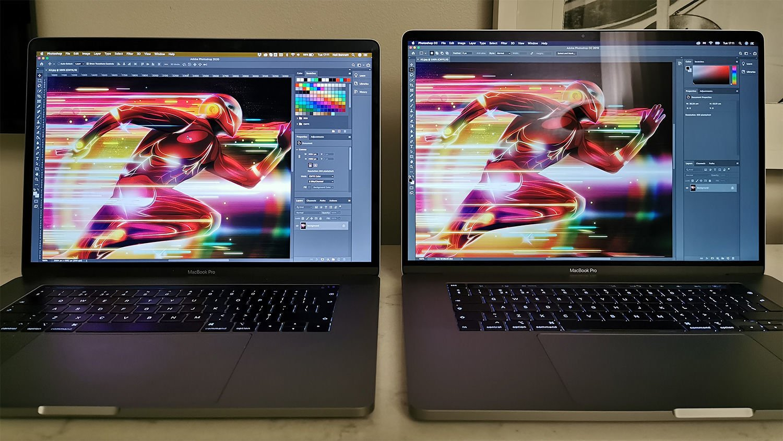 MacBook Pro nuevo y viejo