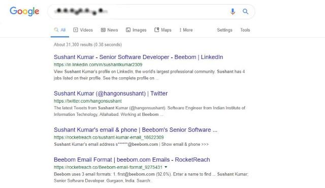 1. Búsqueda de Google