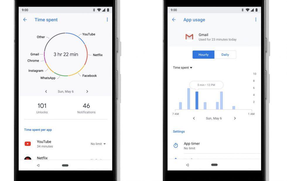 Cómo configurar el temporizador de aplicación para una aplicación en Android 9