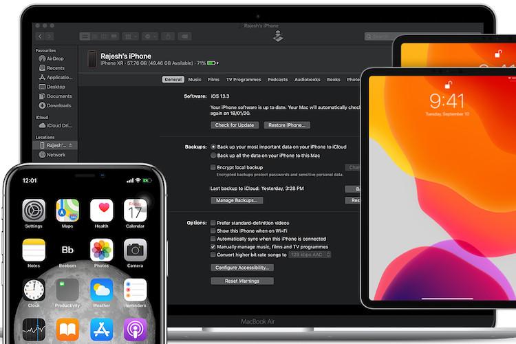Cách xóa bản sao lưu iPhone trên macOS Catalina 2
