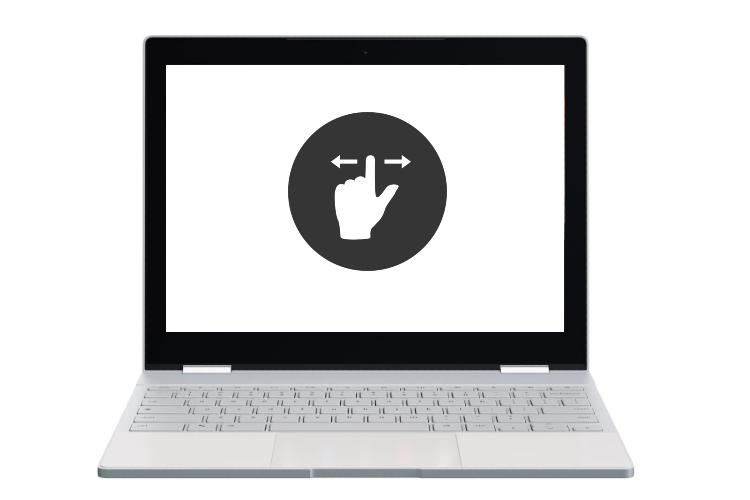 Cách bật cử chỉ trên bàn di chuột trên Chromebook 3
