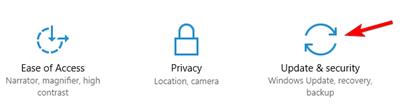 Windows    actualización y seguridad