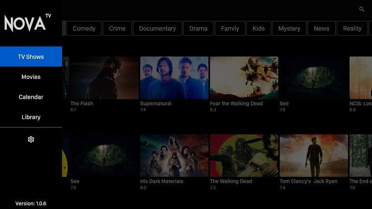 Cómo instalar Nova TV APK en Firestick ou Android TV Box