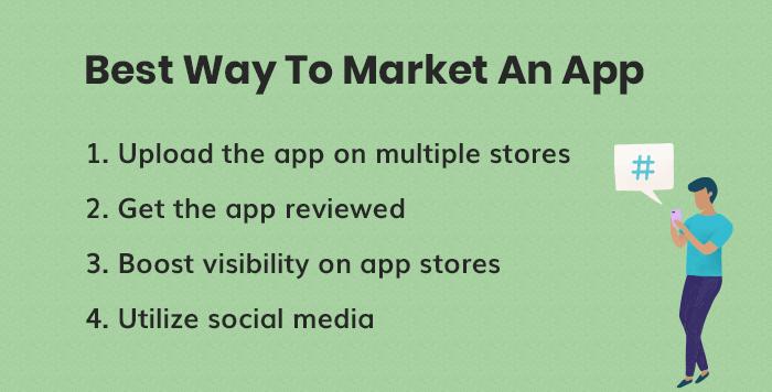 La mejor manera de comercializar una aplicación