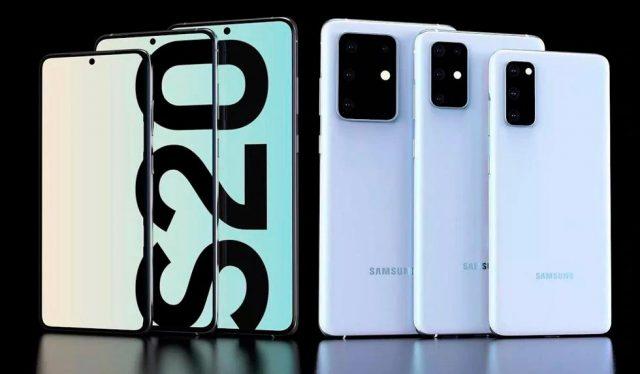 Filtra el precio y los colores de la línea Samsung Galaxy S20