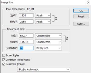 Cómo verificar el DPI del tamaño de la imagen