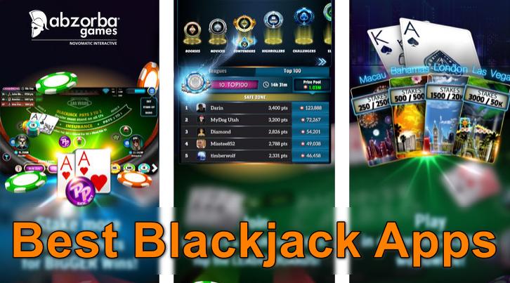 Las mejores aplicaciones de blackjack