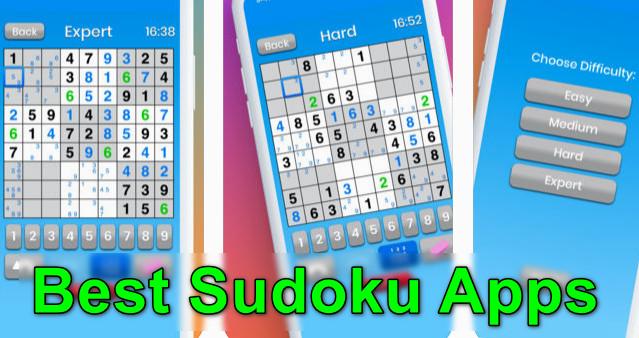 Las mejores aplicaciones de Sudoku