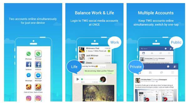mejores aplicaciones clonadas de iphone y android
