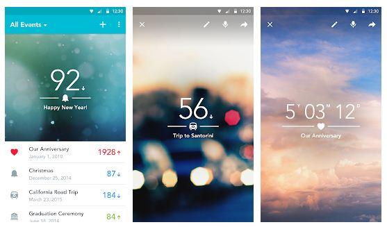 Las mejores aplicaciones de cuenta regresiva para Android / iPhone