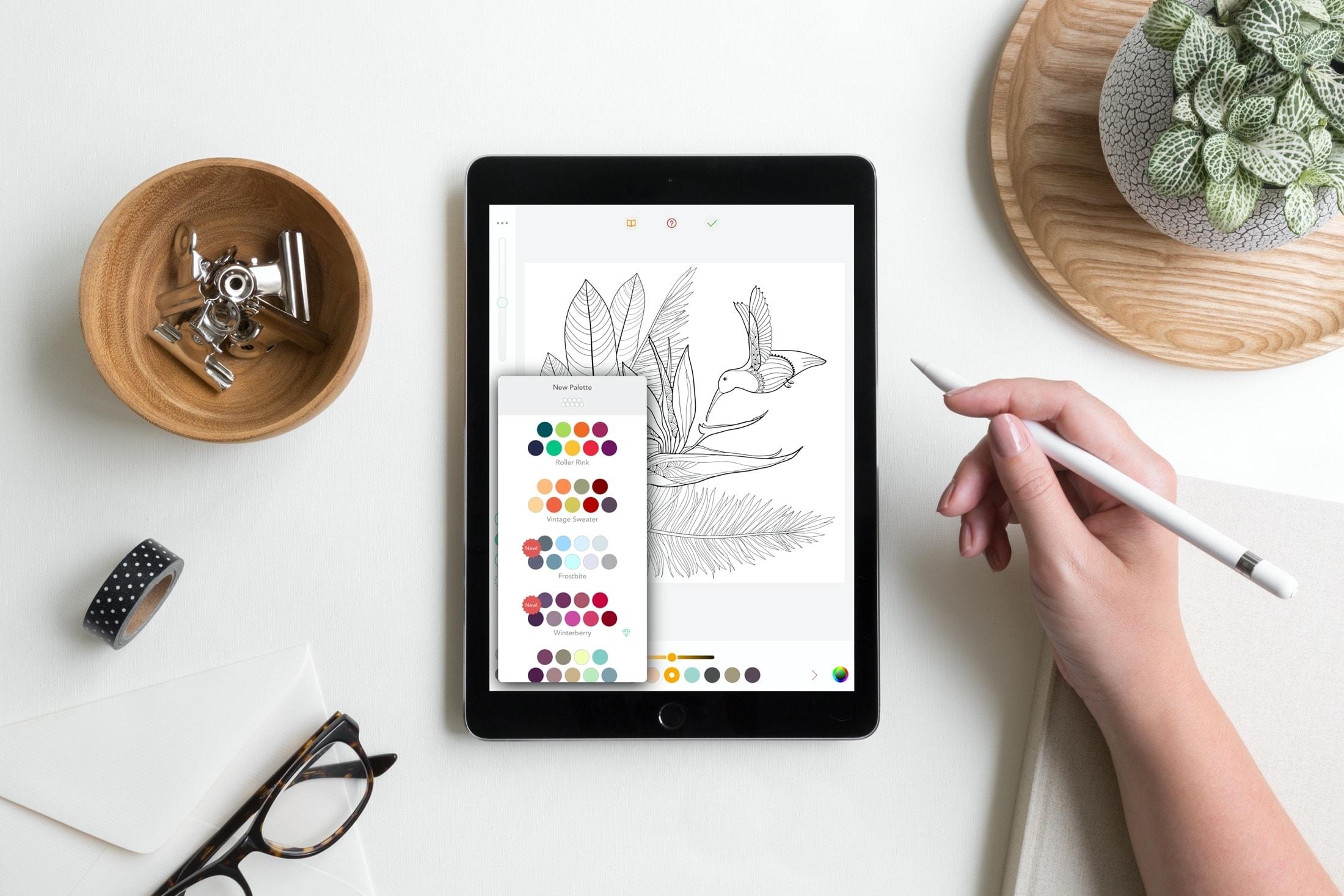 Aplicaciones de libros para colorear - Pigmento
