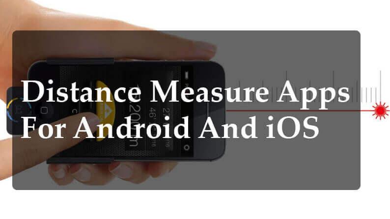 Aplicaciones de medición de distancia