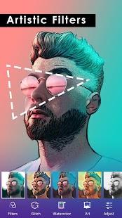 PicsKit - Captura de pantalla del editor de efectos fotográficos gratuitos