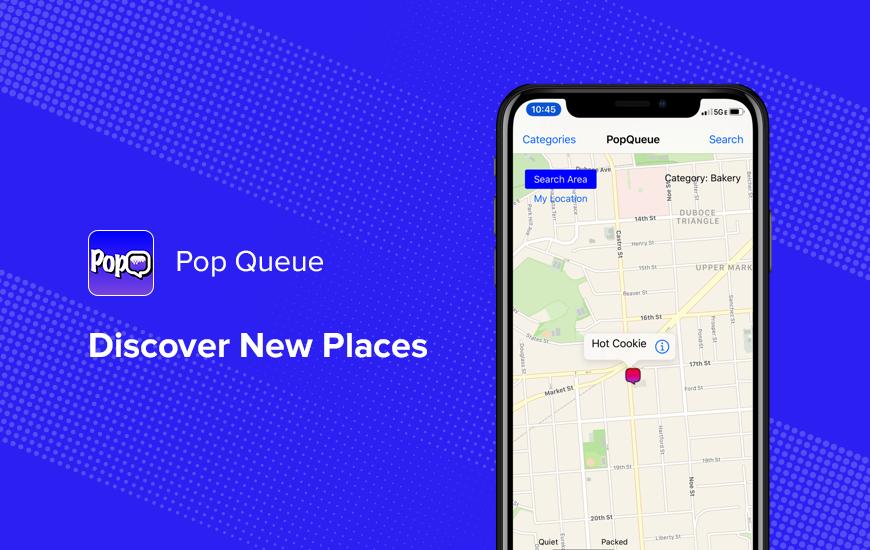 Pop Queue: nuevo lugar a solo un toque de distancia