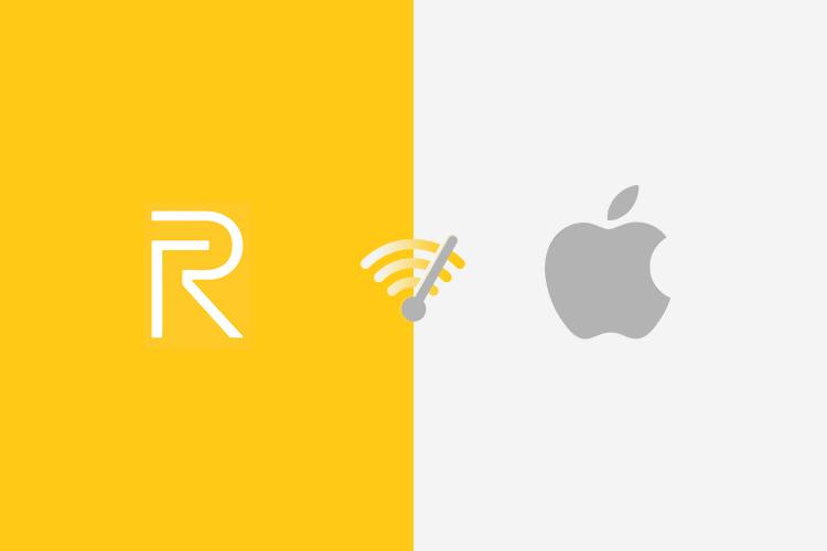 Realme / Oppo / Mi Compartir en ninguna parte cerca de AirDrop