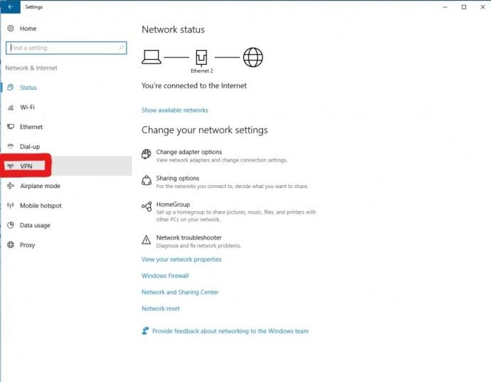 Panel VPN