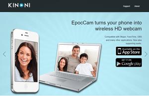 Usa el iPhone como una cámara web