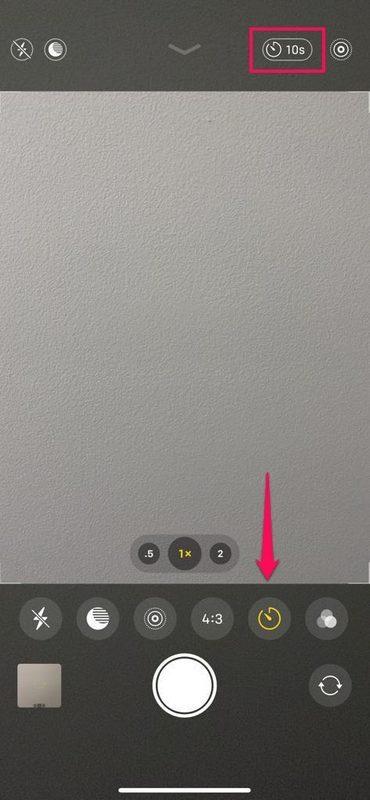 Cómo tomar fotos cronometradas con iPhone 11