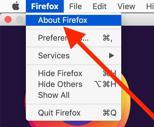 Cómo actualizar Firefox en Mac