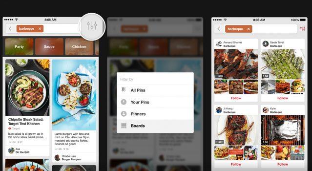 Pinterest Android için: Panoları düzenleme 1