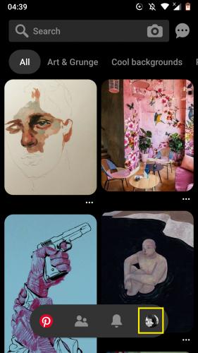 Pinterest Android için: Panoları düzenleme 2