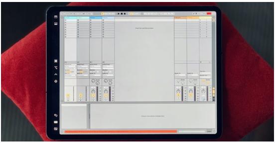Ako používať Ableton Live alebo Logic Pro X na vašom iPade 1