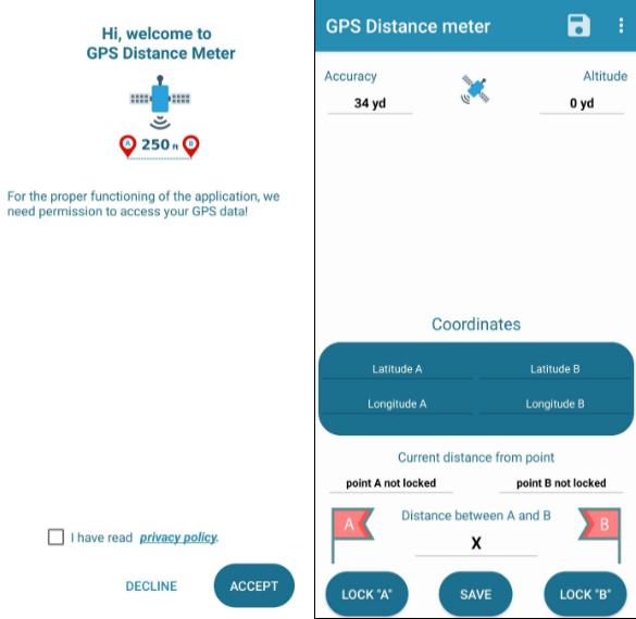 aplicaciones para medir la distancia