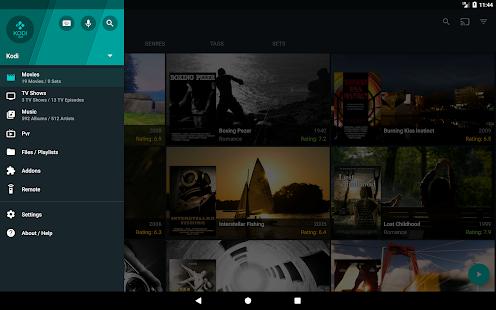 Yatse: control remoto Kodi y captura de pantalla del elenco