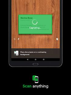 Evernote: captura de pantalla para el bloc de notas y el planificador diario