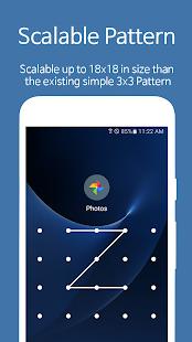 AppLock - Captura de pantalla de huella digital
