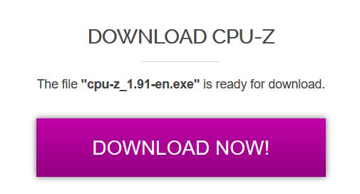 Identificación de tarjetas gráficas Descargar Cpu Z