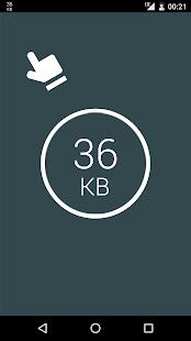 Monitor de datos: pantalla simple de Net-Meter