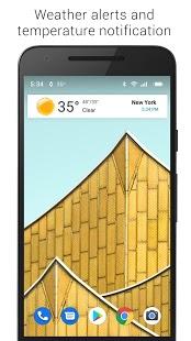 Captura de pantalla 3D sin reloj y clima sin publicidad