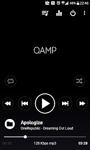 Pro Mp3 Player: captura de pantalla Qamp