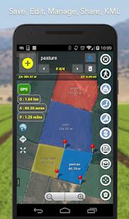 Planímetro - Dimensiones GPS | encuesta de país en el mapa Captura de pantalla