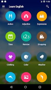 Aprende inglés gratis screenshot