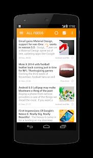 Captura de pantalla de Little RSS Pro