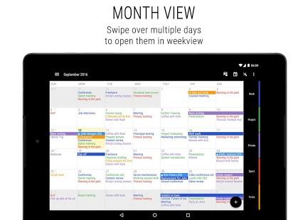 Business Calendar 2 Captura de pantalla de agenda, organizador y organizador