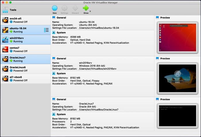 Virtualbox Vs Vmware Virtualbox Múltiples Vms