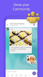 Viber Messenger - Captura de pantalla de mensajes, chats grupales y llamadas