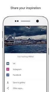 Captura de pantalla del filtro de fotos Vinci AI