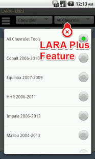Captura de pantalla de LARA Automotive Locksmith Aid