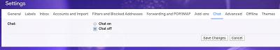 Ocultar Google Hangouts desde la barra lateral de Gmail