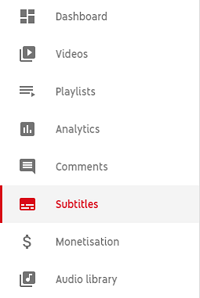 Agregar texto a YouTube Videos después de subir