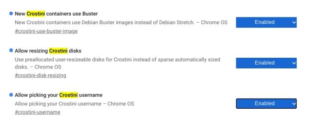 Instalar Debian Buster en Chromebook 4