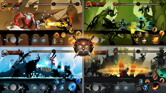 Captura de pantalla de Stickman Legends: Shadow War Offline Fighting Game